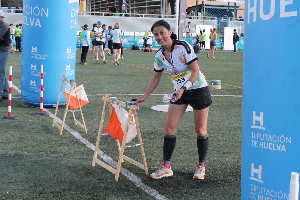 Unidos por el deporte: José Enrique y Lourdes.