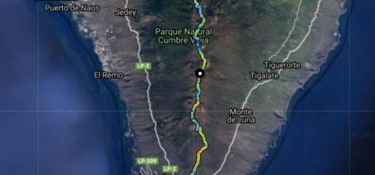 La ruta de los volcanes. La Palma.