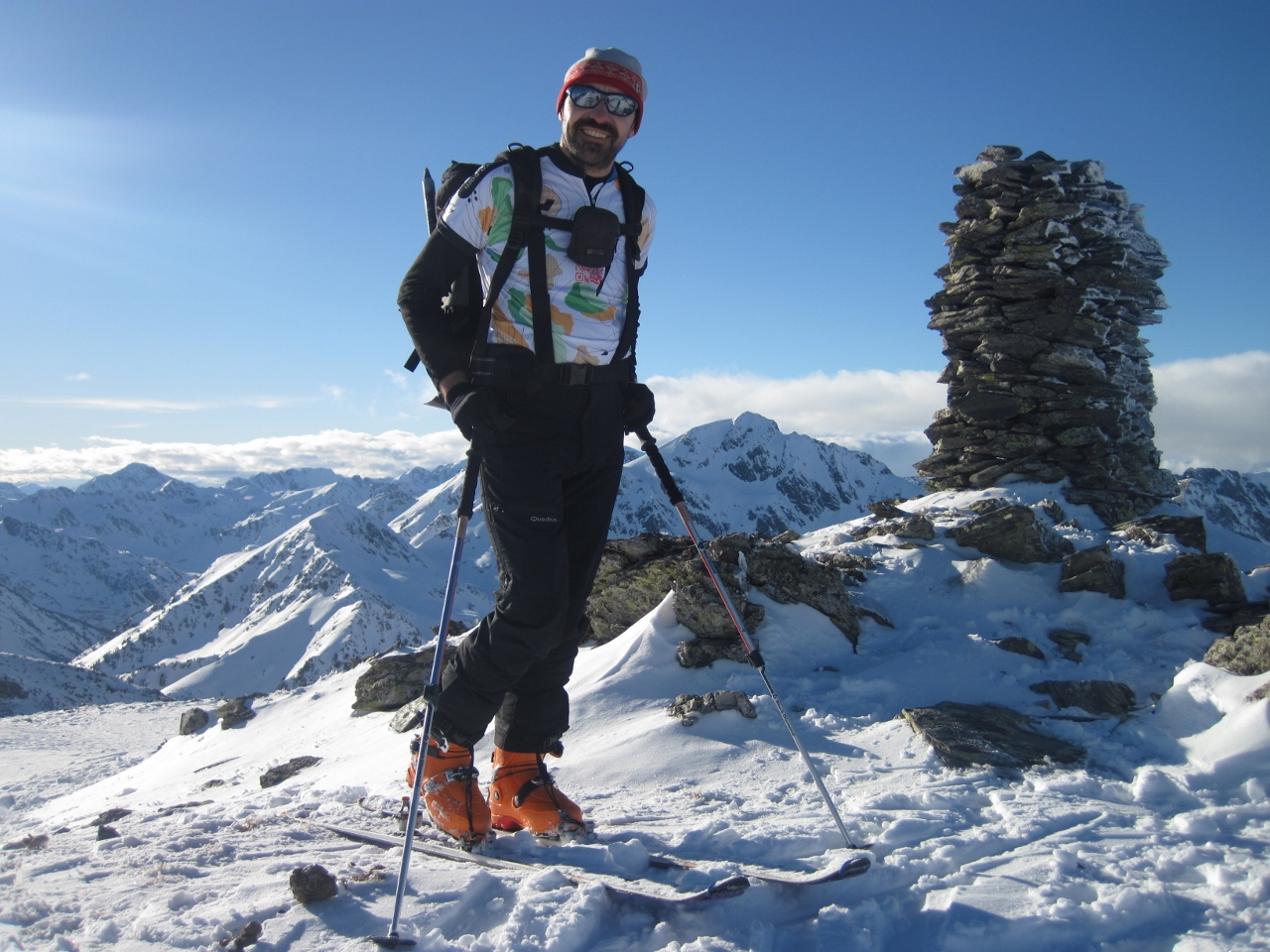 Esquí de fondo. Navafría. Febrero de 2018.